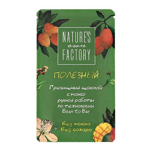 Гречишный шоколад NATURES OWN FACTORY с манго 20 г