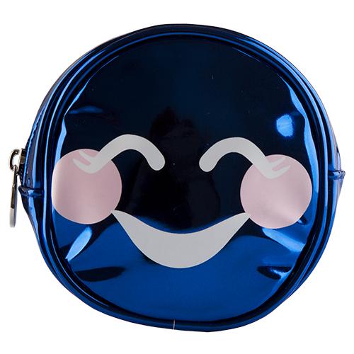 Косметичка круглая SMILE `LADY PINK` UNUSUAL синяяКосметички<br>Косметичка Lady Pink - стильное и удобное решение для хранения косметики. Большой выбор косметичек разных форм и размеров, а также ярких дизайнов позволит легко выбрать ту, которая подходит именно тебе.<br>