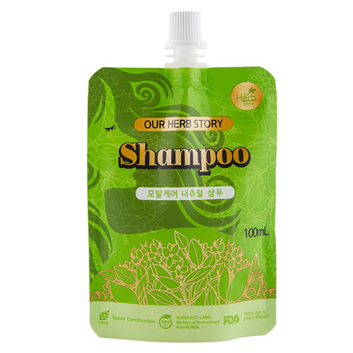 Шампунь для волос OUR HERB STORY 100 мл.