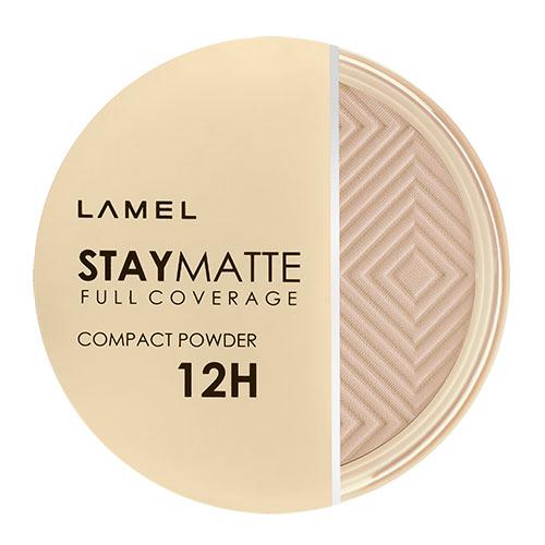 Пудра компактная для лица LAMEL PROFESSIONAL STAY MATTE COMPACT POWDER тон 403