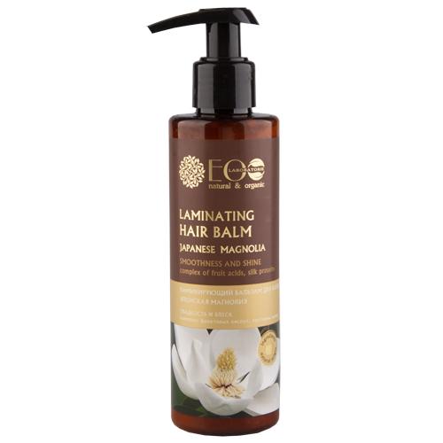 Бальзам для волос `EO LABORATORIE` ламинирующий 200 млБальзамы и ополаскиватели<br>Экстракт магнолии в сочетании с комплексом фруктовых кислот усиливает блеск волос, облегчает расчесывание. <br>Протеины шелка восстанавливают, улучшают текстуру поврежденных волос, обеспечивают идеальную гладкость, помогают создать укладку, оказывают эффект биоламинирования, защищают от негативного воздействия окружающей среды (термоукладка, сухой воздух и т.д.).<br>