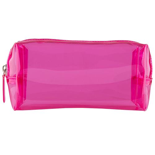 Косметичка прямоугольная LADY PINK TRANSPARENT розоваяКосметички<br>Косметичка Lady Pink - стильное и удобное решение для хранения косметики. Большой выбор косметичек разных форм и размеров, а также ярких дизайнов позволит легко выбрать ту, которая подходит именно тебе.<br>