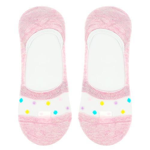 Купить Носки женские SOCKS FUNKY DOTS Pink, р-р единый, КИТАЙ/ CHINA