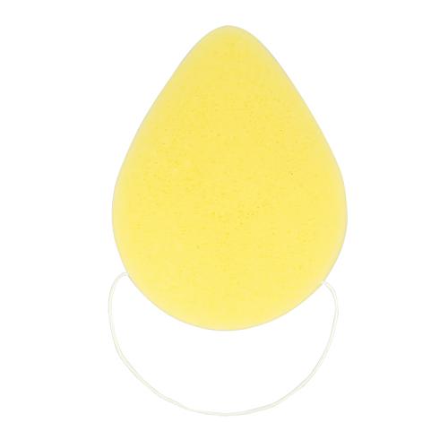 Спонж из конняку DECO. CLEAN каплевидный yellow