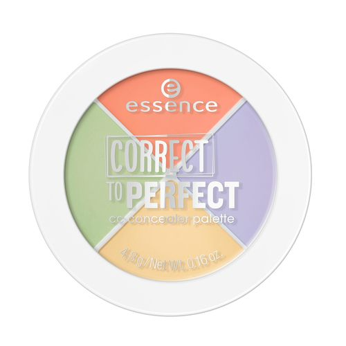 Палетка консилеров для лица ESSENCE CORRECT TO PERFECT круглая