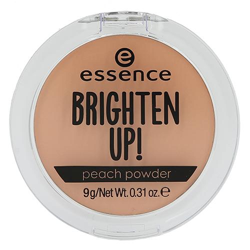 Пудра компактная для лица `ESSENCE` BRIGHTEN UP peachПудра<br>Матирующая пудра мягкого персикового оттенка придаст коже шелковистое сияние. Продукт также подходит для создания макияжа в технике «запекания».<br>