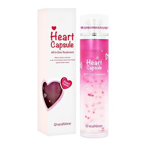 Купить Средство для ухода за лицом SEANTREE HEART CAPSULE ALL IN ONE тонер + эссенция + эмульсия 130 мл, РЕСПУБЛИКА КОРЕЯ/ REPUBLIC OF KOREA