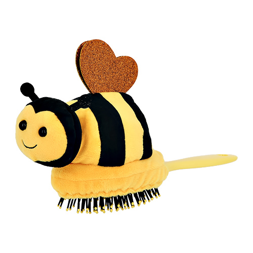 Расческа для волос `MISS PINKY` с пчелкой