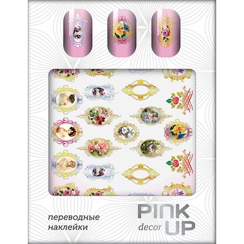 Наклейки для ногтей переводные `PINK UP` NAIL DESIGN тон 512Дизайн ногтей<br>Pink Up Nail desing – наклейки для ногтей. Твой незаменимый помощник для создания салонного дизайна ногтей в домашних условиях. Дизайн ногтей который всегда получается!<br>