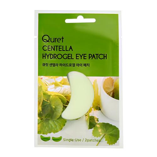 Патчи для глаз QURET гидрогелевые с экстрактом азиатской центеллы 2 шт
