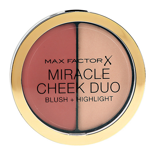 Румяна для лица `MAX FACTOR` MIRACLE CHEEK DUO тон 20 brown peach & champagne