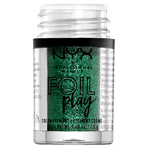 Пигмент для век `NYX PROFESSIONAL MAKEUP` FOIL PLAY кремовый тон 09