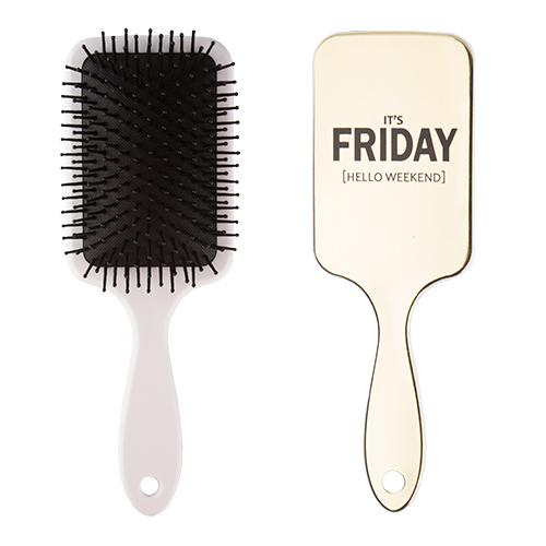 Расческа для волос `LADY PINK` FUNNY PRINT silverЩетки массажные<br>Массажная щетка Lady Pink подходит для расчесывания волос любой длины. Обеспечивает деликатный массаж кожи головы, улучшает микроциркуляцию.<br>