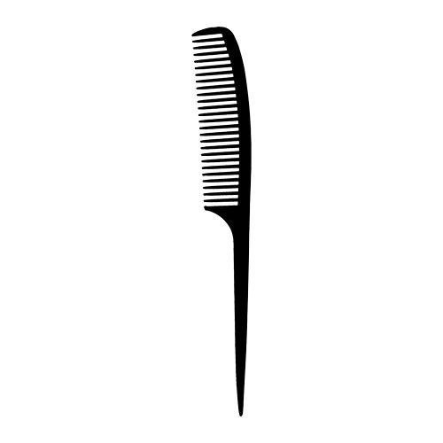 Купить Расческа-гребень для волос LADY PINK BASIC PROFESSIONAL карбоновая с ручкой 22 см, КИТАЙ/ CHINA