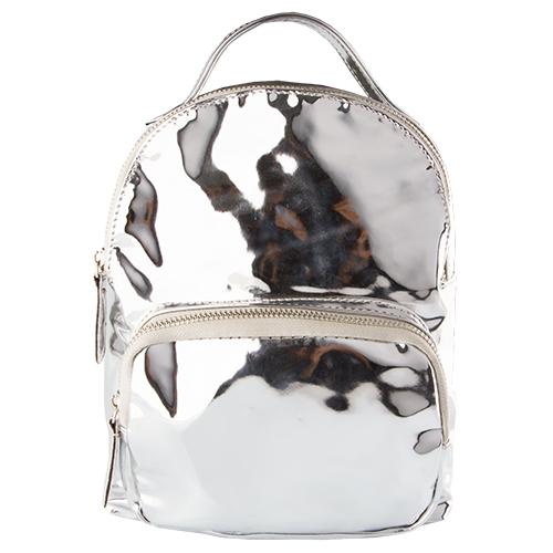Рюкзак LADY PINK METAL SHOCK сереброСумки<br>Рюкзаки давно перешли из разряда спортивных аксессуаров в разряд модных и стильных вещей в современном женском гардеробе.<br>Они являются отличной альтернативой дамским сумочкам, которые не так удобны и комфортны в каждодневном обиходе.  Стильные рюкзаки Lady Pink отлично дополнят любой Ваш образ – не только спортивный, но и в стиле casual, casual smart, и даже в деловом стиле.<br>
