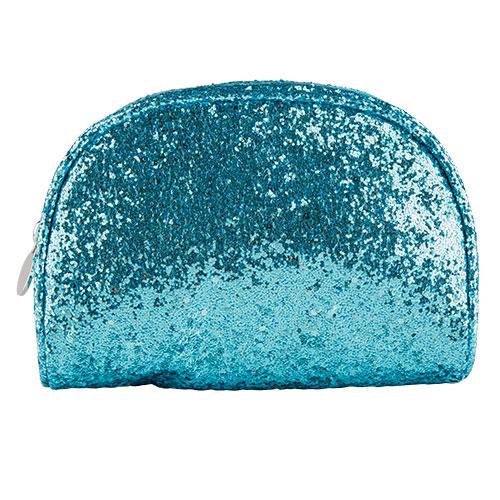 Косметичка овальная GLITTER LADY PINK SHINE ON голубаяКосметички<br>Косметичка Lady Pink - стильное и удобное решение для хранения косметики. Большой выбор косметичек разных форм и размеров, а также ярких дизайнов позволит легко выбрать ту, которая подходит именно тебе.<br>
