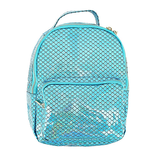 Рюкзак LADY PINK русалчатый голубой фото