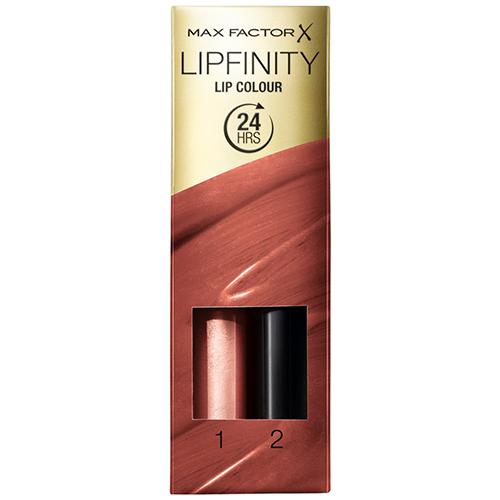 Помада для губ и увлажняющий блеск `MAX FACTOR` LIPFINITY тон 070 стойкаяПомада<br>Стойкая губная помада придает насыщенный стойкий цвет, блеск увлажняет и ухаживает за губами губы, придает прозрачный блеск.<br>