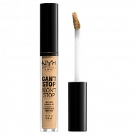 Консилер для лица `NYX PROFESSIONAL MAKEUP` CAN`T STOP WON`T STOP тон 08