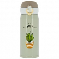 Термос `FUN` CACTUS LOVE Beige 350 мл