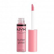 Блеск для губ `NYX PROFESSIONAL MAKEUP` BUTTER GLOSS тон 02 ECLAIR