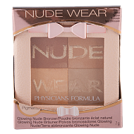 Пудра компактная для лица `PHYSICIANS FORMULA` NUDE WEAR бронзирующая тон загар