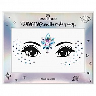 Наклейки для лица `ESSENCE` DANCING ON THE MILKY WAY тон 02