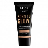 Основа тональная для лица `NYX PROFESSIONAL MAKEUP` BORN TO GLOW тон Natural