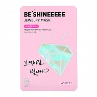 Маска для лица `LASSIE`EL` `BE SHINE` JEWERLY Tone up Aura (для сияния кожи) 28 г