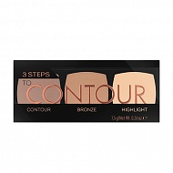 Палетка для контуринга `CATRICE` 3 STEPS TO CONTOUR тон 010