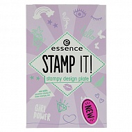 Трафарет для штампа `ESSENCE` STAMP IT тон 01