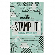 Трафарет для штампа `ESSENCE` STAMP IT тон 02