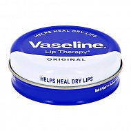 Бальзам для губ `VASELINE` `LIP THERAPY` ORIGINAL без запаха (в баночке) 20 г