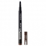 Маркер для бровей `CATRICE` BROW COMB DESINER PRO тон 010 medium brown