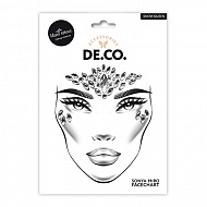 Кристаллы для лица и тела `DECO.` FACE CRYSTALS by Miami tattoos (Snow Queen)