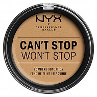 Крем-пудра для лица `NYX PROFESSIONAL MAKEUP` CAN`T STOP WON`T STOP компактная тон Beige