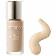Основа тональная для лица `ARTDECO` RICH TREATMENT FOUNDATION светоотражающая тон 28
