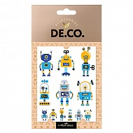 Татуировка для тела `DE.CO.` MINI ME by Miami tattoos переводная (Robot)
