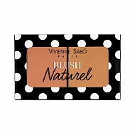 Румяна для лица `VIVIENNE SABO` BLUSH DUO NATUREL двойные тон 02