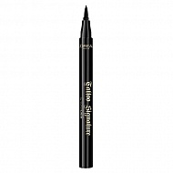 Лайнер для глаз `LOREAL` SUPER LINER TATTOO SIGNATURE черный