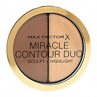 Палетка для контуринга `MAX FACTOR` MIRACLE CONTOURING DUO тон Light medium