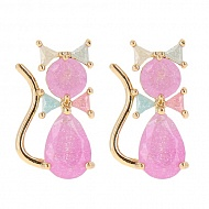 Серьги `LADY PINK` MUST HAVE