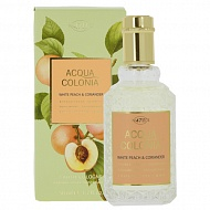 Одеколон `4711 ACQUA COLONIA` BALANCING - WHITE PEACH & CORIANDER (жен.) 50 мл