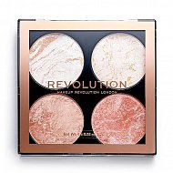 Палетка хайлайтеров для лица `REVOLUTION` CHEEK KIT тон take a breather