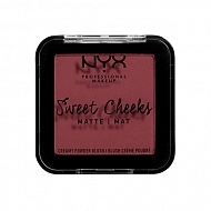 Румяна для лица `NYX PROFESSIONAL MAKEUP` SWEET CHEEKS BLUSH (MATTE) тон so taupe