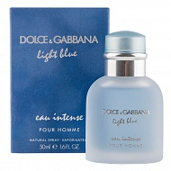 Парфюмерная вода `DOLCE & GABBANA` LIGHT BLUE INTENSE POUR HOMME (муж.) 50 мл