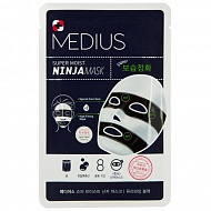 Маска для лица `MEDIUS` SUPER MOIST NINJA MASK очищающая 33 мл