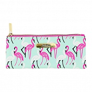 Косметичка квадратная `LADY PINK` MUST HAVE LIMITED Flamingo 3 шт