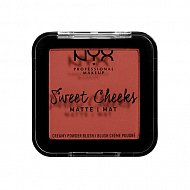 Румяна для лица `NYX PROFESSIONAL MAKEUP` SWEET CHEEKS BLUSH (MATTE) тон summer breeze