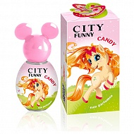 Душистая вода `CITY PARFUM` `CITY FUNNY` CANDY (дет.) 30 мл
